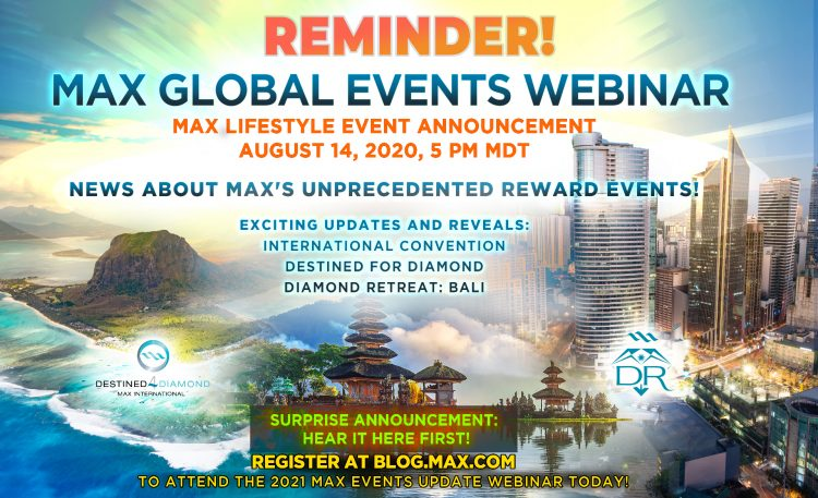 Max Global Events Webinar